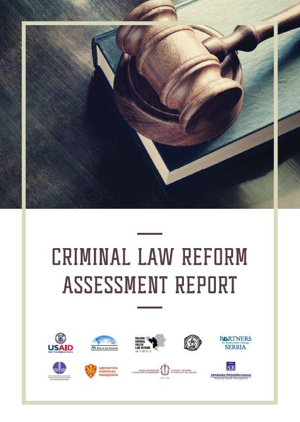 Criminal Law Reform Assessment Report