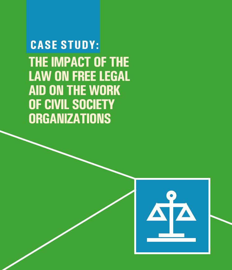 The Impact of the Law on Free Legal Aid on the Work of Civil Society Organizations