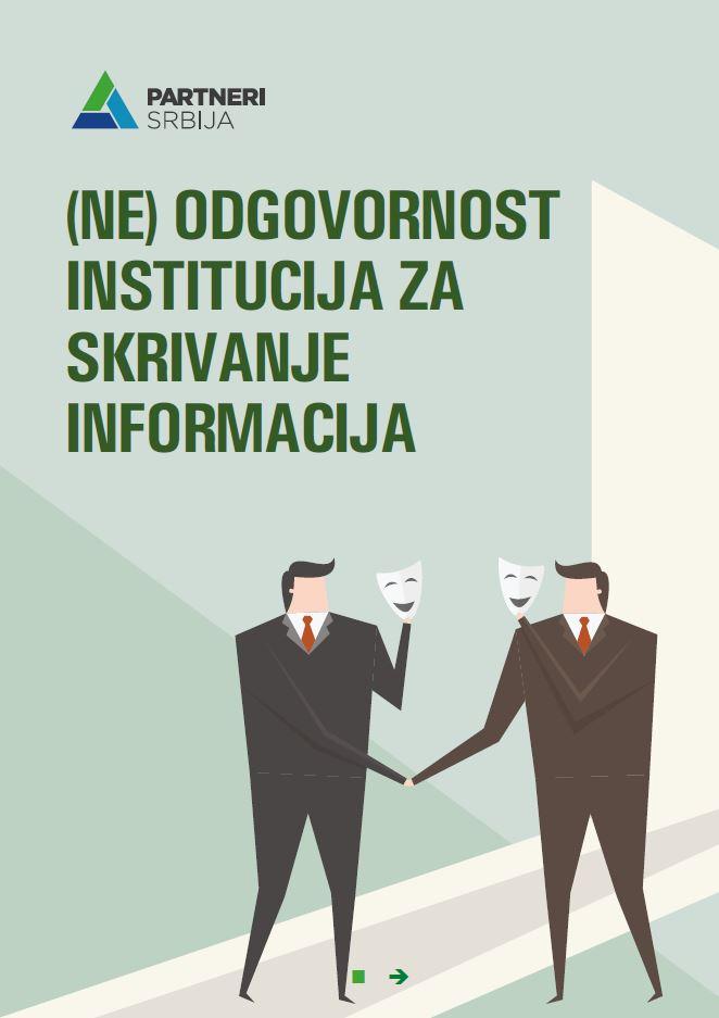 Neodgovornost institucija za skrivanje informacija