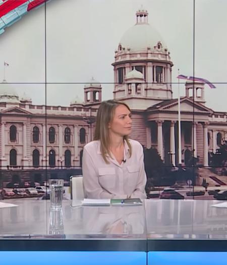 Ana Toskić, izvršna direktorka PS, gost na televiziji N1