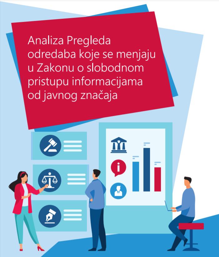 Analiza Pregleda odredaba koje se menjaju u Zakonu o slobodnom pristupu informacijama od javnog značaja sa preporukama za postupanje