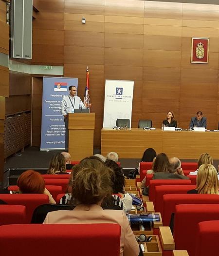 """Partneri Srbija na konferenciji """"Opšta uredba EU o zaštiti podataka o ličnosti"""""""