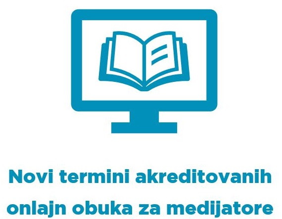 Novi termini akreditovanih onlajn obuka za medijatore