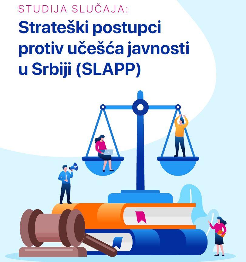 Studija slučaja: Strateški postupci protiv učešca javnosti u Srbiji (SLAPP)