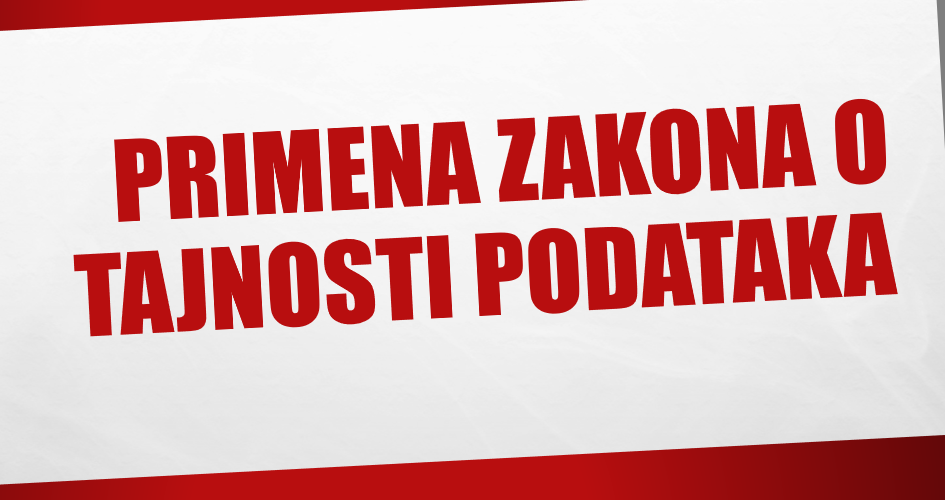 Zaštitnik građana potvrdio stavove organizacije Partneri Srbija -  Ne postoje opravdani razlozi za izostanak nadzora u oblasti tajnosti podataka