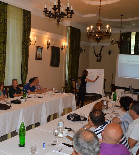 Communication and Negotiation Skills Training for Members of NIS